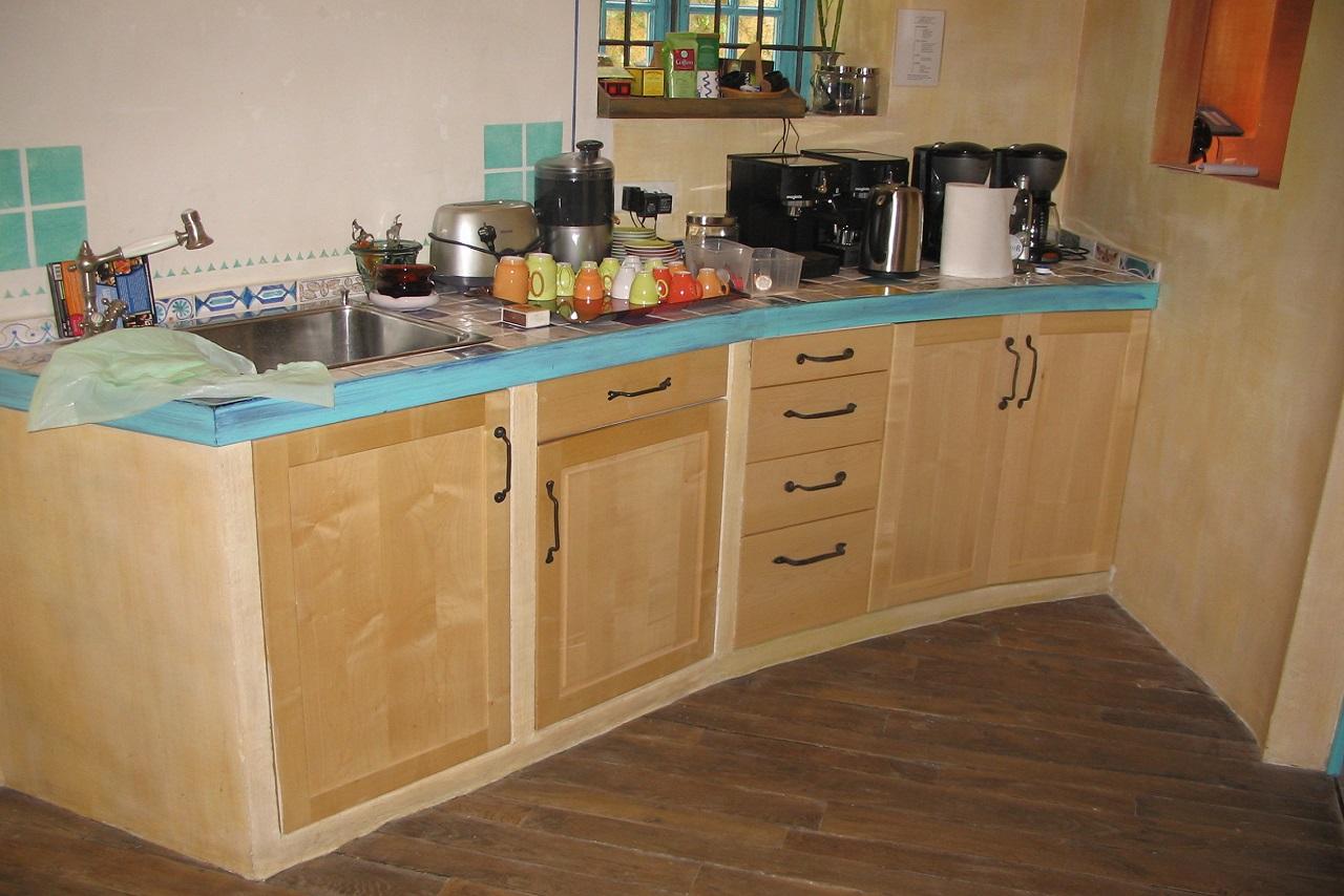 ahorn küche gemauert
