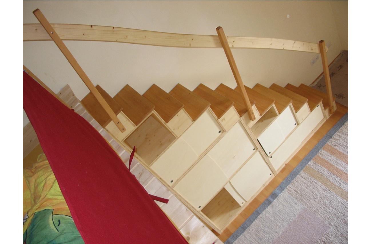 hochbett treppe
